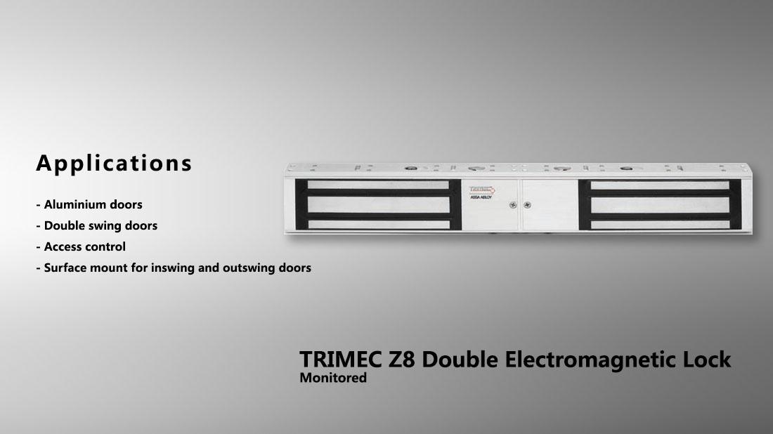 Trimec Z8 Double Electromagnetic Lock Monitored Hong