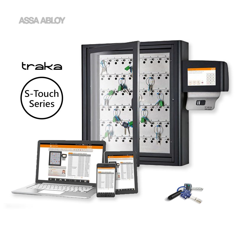 Traka S-Touch key management cabinet