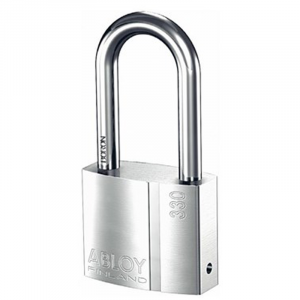 Abloy Padlock PL330C/50 c/w 3-Keys (Rekeyable)