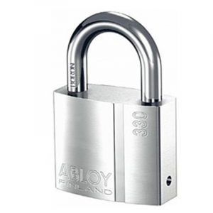 Abloy Padlock PL330C c/w 3-Keys (Rekeyable)