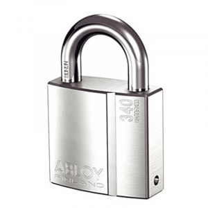 Abloy Padlock PL340C c/w 3-Keys (Rekeyable)