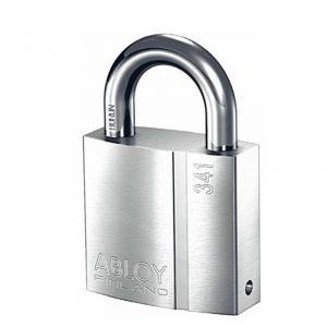 Abloy Padlock PL341C c/w 3-Keys (Rekeyable)