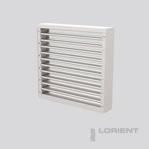 LVH44 INTUMESCENT AIR TRANSFER GRILLE