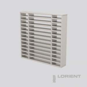 LVV40 INTUMESCENT AIR TRANSFER GRILLE
