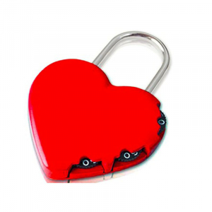 Y-HEART - Yale Novelty Lock Range Heart Luggage 3  ...